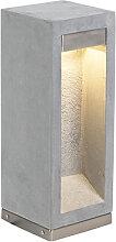 Lampe exterieure contemporaine grise 40 cm - Sneezy