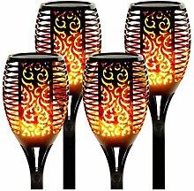 Lampe Flamme Solaire étanches IP65 Torche de