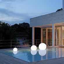 Lampe flottante design pour piscine extérieure