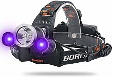Lampe frontale LED Super Bright Head Light 3 modes