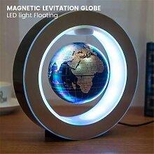 Lampe Globe à lévitation magnétique, carte du