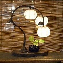 Lampe Hanji Tradition Corée Lumière Chambre 3