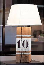 Lampe haute blanche L34