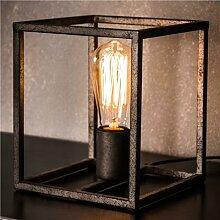 Lampe industrielle en métal gris BOLTON