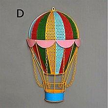 Lampe industrielle, Lampe murale creuse à ballon