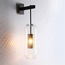 Lampe industrielle, Lampe murale de pêche double