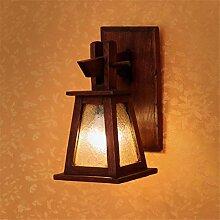 Lampe industrielle, Lampe murale rétro faite main