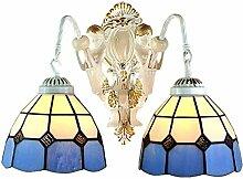 Lampe industrielle, Lampe murale rétro Tiffany