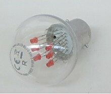 Lampe led 1.2W rouge filament culot B22 230V usage