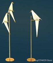 Lampe Led autoportante en papier, design moderne,
