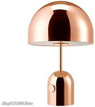 Lampe led créative en forme de champignon, style