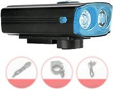 Lampe LED De Vélo Lumière Vélo USB Rechargeable