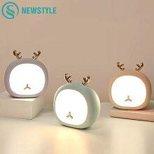 Lampe led en forme de cerf ou de lapin,