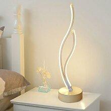 Lampe LED en forme de spirale en acrylique, 18W,