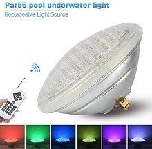 Lampe LED Par56 pour piscine, imperméable