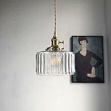 Lampe Led suspendue en verre au Design nordique