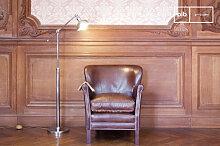 Lampe liseuse orientable en métal