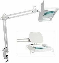 Lampe-Loupe - 2 X 9 W - Blanc (Ri3513)