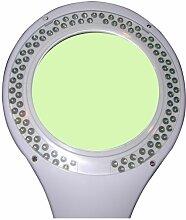 Lampe-loupe LED étau lentille 127 mm 8 dioptries
