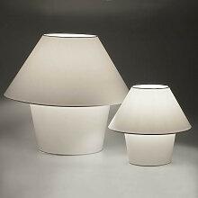 Lampe moderne blanche abat-jour