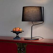 Lampe moderne noire