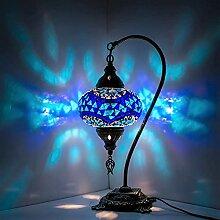 Lampe mosaïque orientale turque marocaine -
