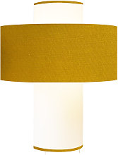 Lampe moutarde D 35 cm