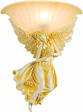 Lampe Murale Ange Sculpture Applique Salon Chambre