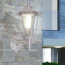 Lampe murale extérieure Acier inoxydable HDV26867