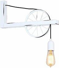 Lampe Murale Hydra - Applique - Blanc en Metal, 43