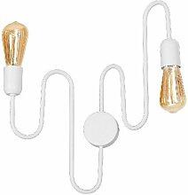 Lampe Murale Lynx - Applique - Blanc en Metal, 32