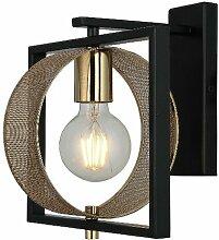 Lampe Murale Sama - Applique - Or, noir en Metal,