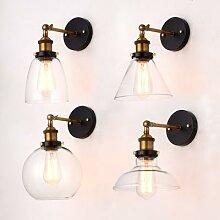 Lampe murale Vintage industrielle Edison,