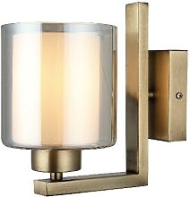 Lampe Murale Voda - Applique - Or en Metal, Verre,