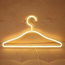 Lampe néon à LED pour suspension murale de