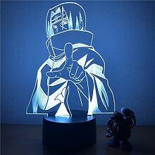 Lampe Nuit Naruto Uchiha Itachi LED Night Light