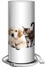 Lampe photo chien et chat