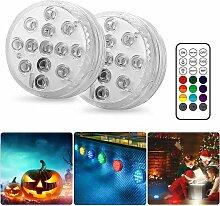 Lampe Piscine LED Lumières LED Submersibles (2
