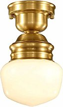 Lampe Plafond Américain Copper Art lampe de