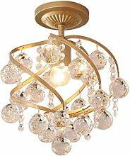 Lampe Plafond Cristal Plafonnier Lustre Aisle