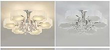 Lampe Plafond Crystal Eclairage Plafonnier Lustre