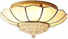 Lampe Plafond Lampe de plafond Cuivre Chambre