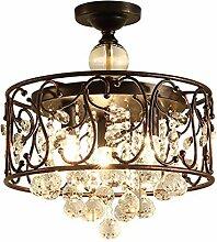 Lampe Plafond Plafonnier K9 cristal Raindrop