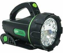 Lampe projecteur à led et halogène werkapro  12v