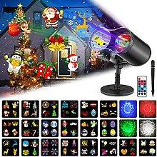Lampe Projecteur LED de Noël, Projecteur Lumière