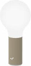 Lampe sans fil Aplô LED - Fermob beige en métal