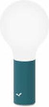 Lampe sans fil Aplô LED - Fermob bleu en métal