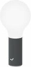 Lampe sans fil Aplô LED - Fermob noir en métal