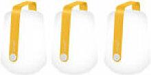 Lampe sans fil Balad / H 13,5 cm - Set de 3 lampes