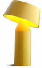 Lampe sans fil Bicoca - Marset jaune en matière